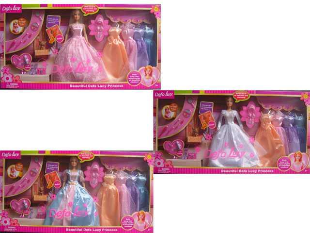 Продам Кукла с платьями, Defa Lucy, № 6073B