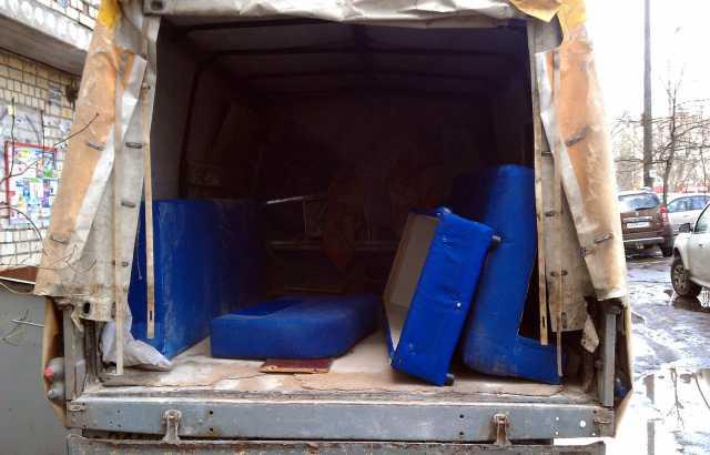 Предложение: Вывоз мебели на свалку.Грузчики и машины