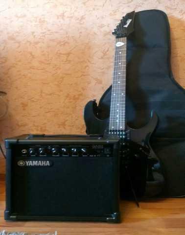 Продам: Гитара Ibanez GRG270B + усилитель Yamaha