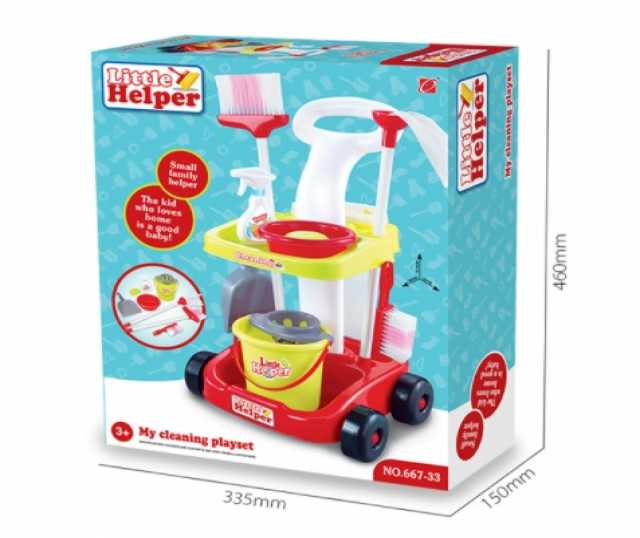 Продам Детский набор для уборки, со шваброй, № 667-33