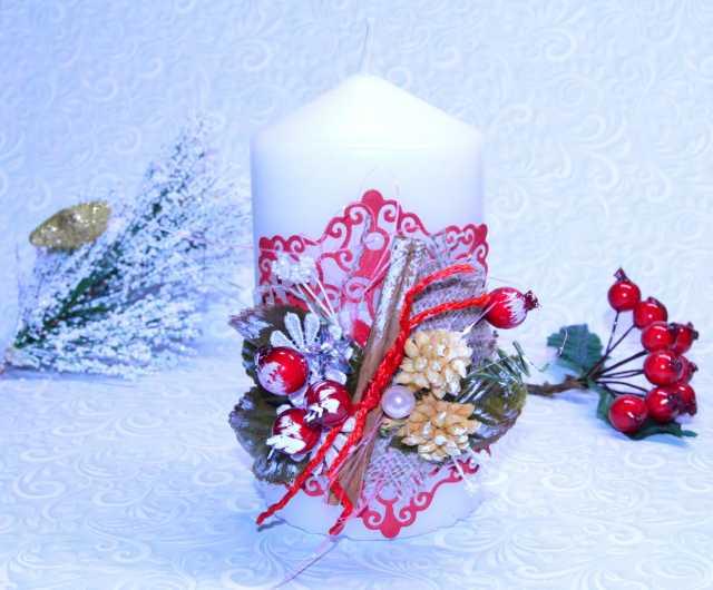 Продам Декорированная свеча