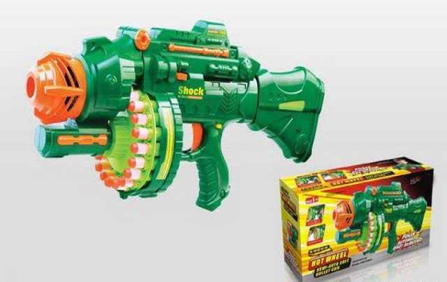 Продам Бластер Nerf, детский, с мягкими пулями, № 7002