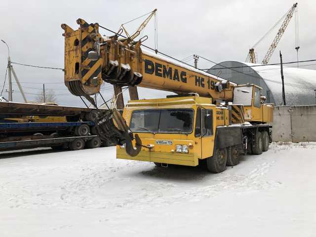 Предложение: Аренда Автокран Demag г.п. 70 тон, 38 м.