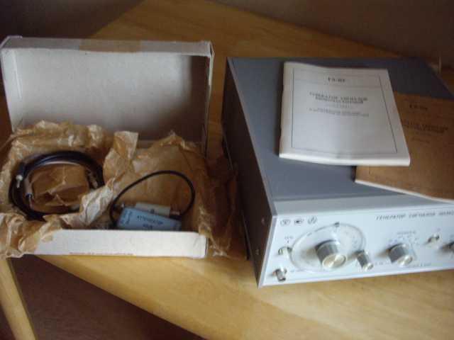 Продам Новый генератор звуковых частот Г3-112