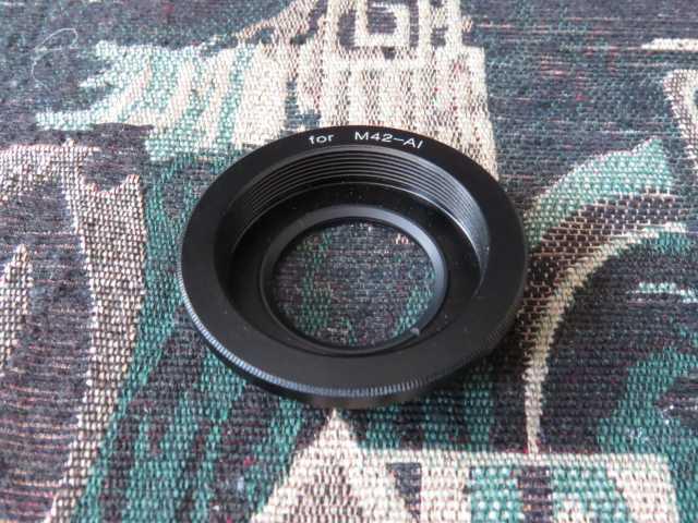 Продам Переходник для объектива на Nikon