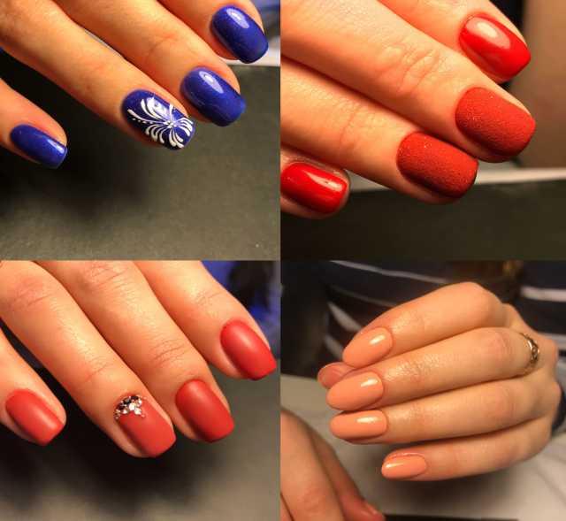 Предложение: Наращивание ногтей (гель, Акрил) shellac