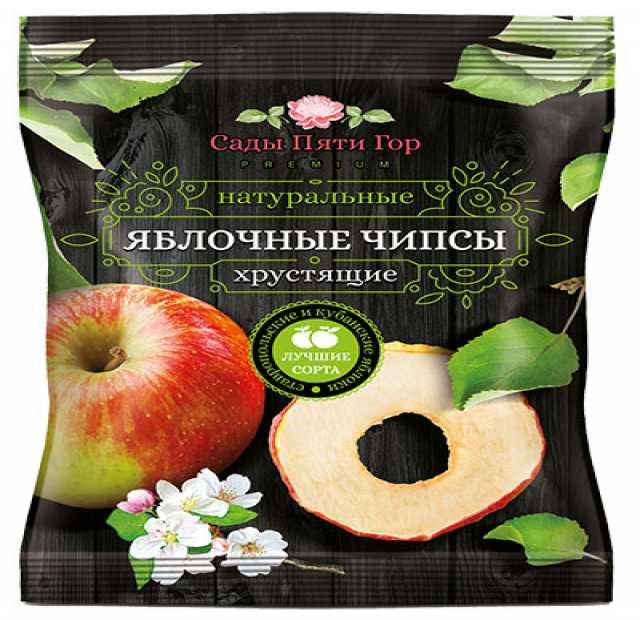 Продам Яблочные чипсы (Россия) оптом