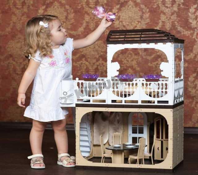 Продам: Кукольный дом для барби - два этажа