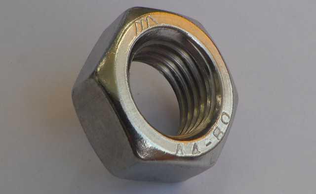 Продам Гайка М20 из нержавеющей стали