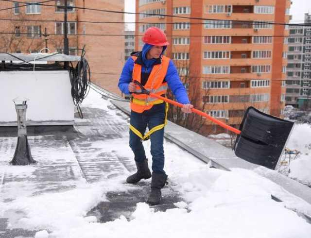 Предложение: Уборка и вывоз снега, очистка крыш