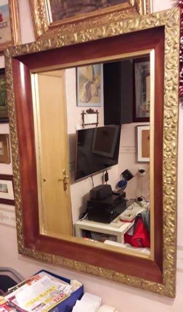 Продам Модерн рама с зеркалом конец 19 века