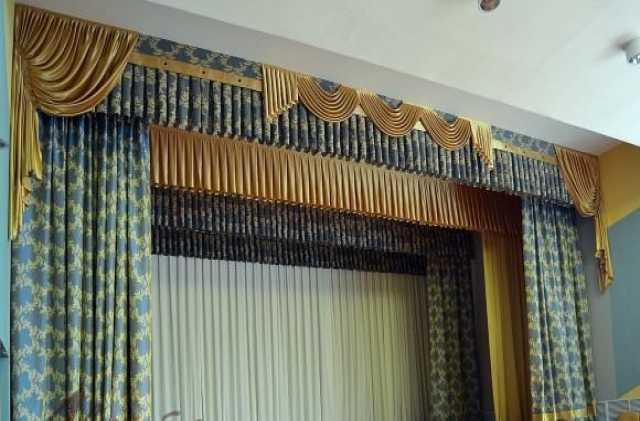 Продам: Пошив театральных штор