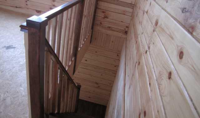 Предложение: Лестницы в деревянные дома