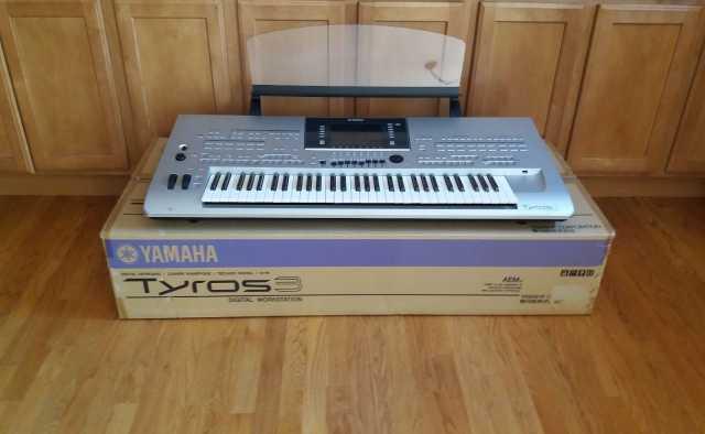 Продам Yamaha Tyros3 Клавиатура рабочей станции