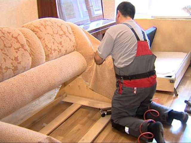 Предложение: Перетяжка и ремонт мягкой мебели