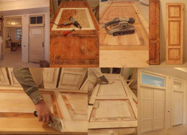 Предложение: Реставрация ремонт дверей, мебели