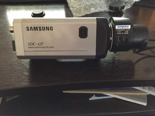 Продам камера видеонаблюдения и линза