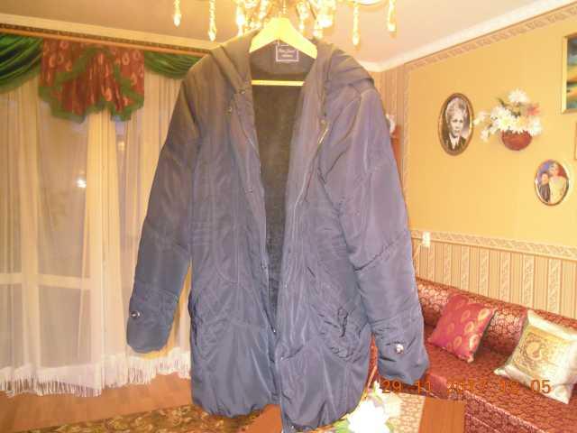 Продам очень теплая куртка на меху