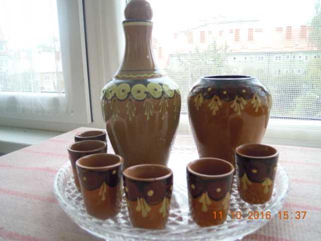 Продам ликерно-коньячный набор из керамики