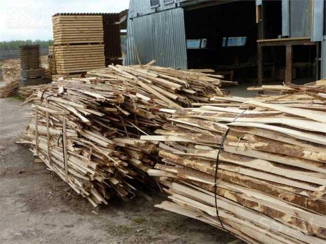 Продам обрезки сосновые на дрова , доставка
