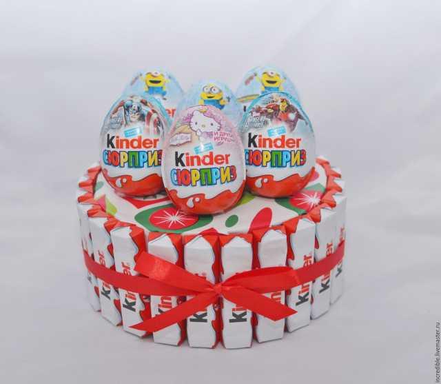 Продам Торт из киндеров торт из конфет