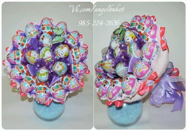 Продам Букеты из мягких игрушек и конфет