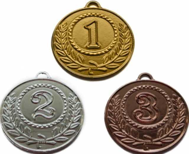 Продам Медали для спортивных мероприятий