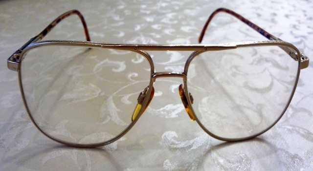 Продам Очки позолоченные
