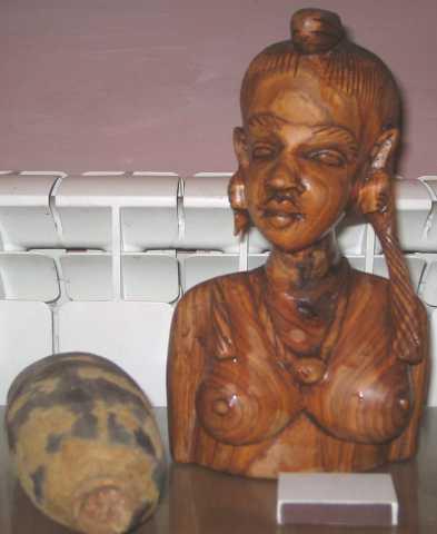 Продам африканскую статуэтку из Мали