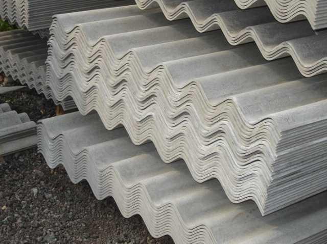 Продам Щифер волновой серый и окрашенный