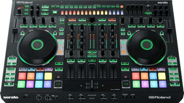 Продам Roland DJ-808 DJ контроллер