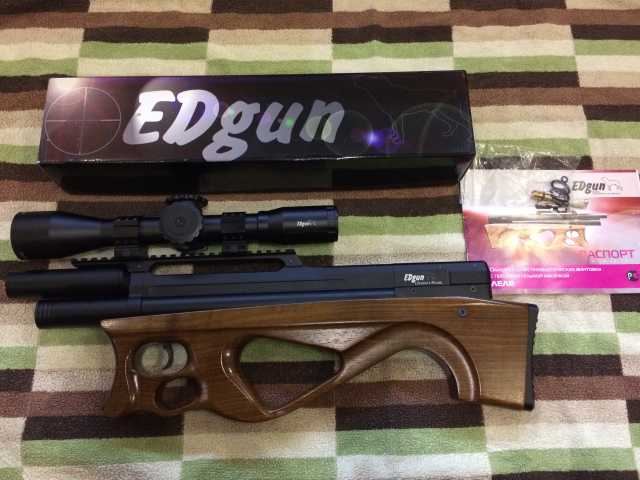 Продам EDgun ЛЕЛЯ 5.5 мм