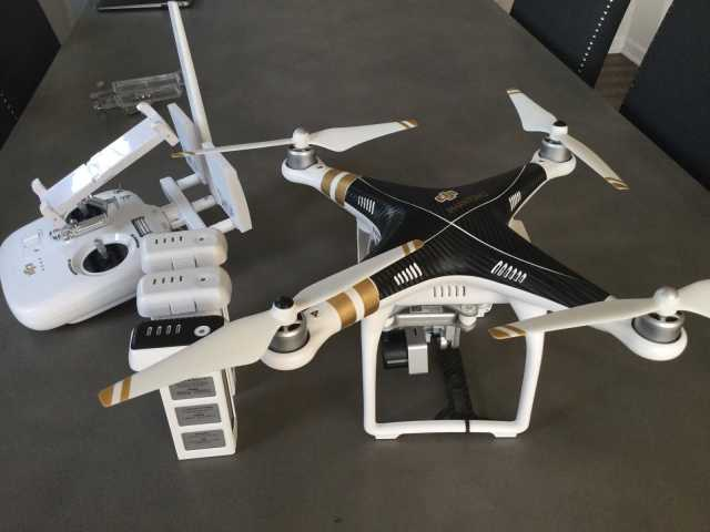 Продам  DJI Phantom 3 Professional 4K White