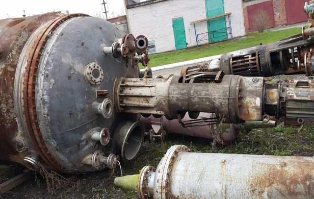 Продам Реактор химический 16м3;10 м3 н/ж