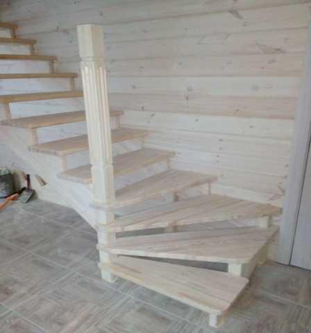 Продам: Изготовление и монтаж лестниц для дома (