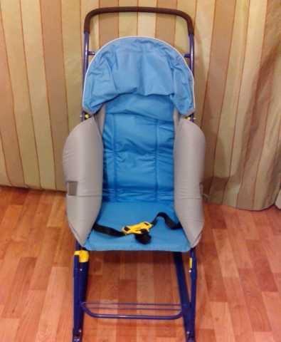 Продам санки-коляска детская, складная