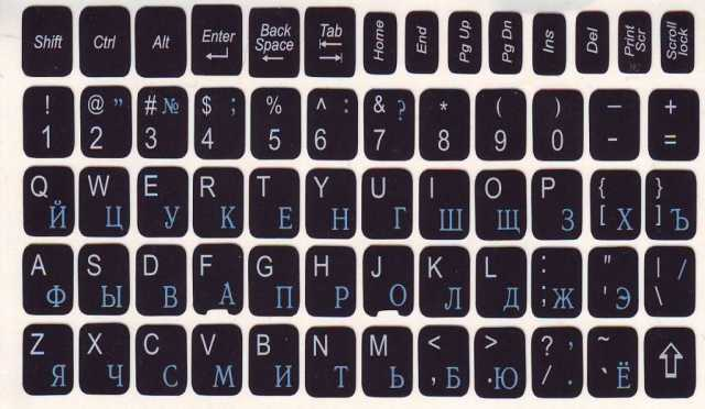 Продам Наклейки для клавиатуры