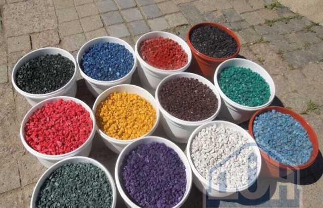 Продам Щебень цветной декоративный с доставкой