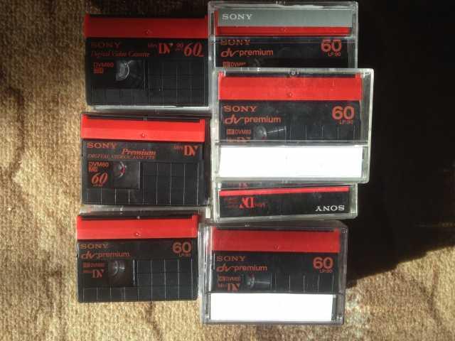 Продам Кассеты для професиональных видеокамер