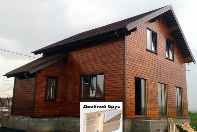 Предложение: Домкомплект дома из клееного бруса