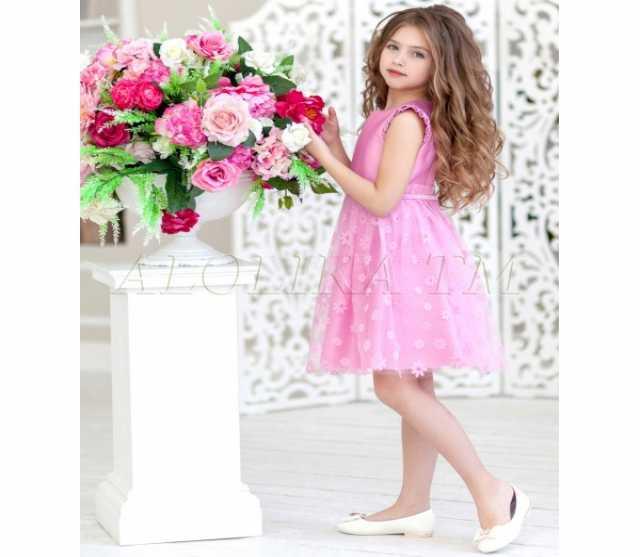 Продам Платье праздничное Франческа розовое