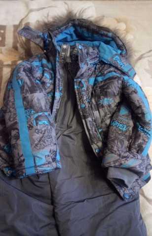 Продам Куртка и комбинезон (ЗИМА) р. 128