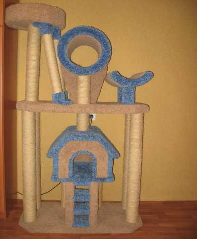 Продам Домик, когтечточка, комплекс для кошек