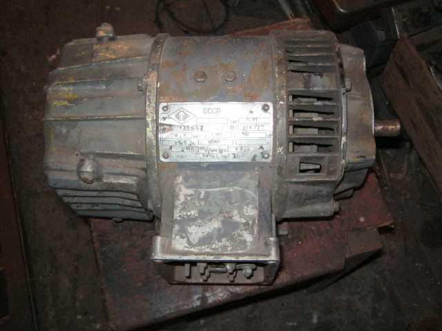 Продам электродвигатель постоянного тока.