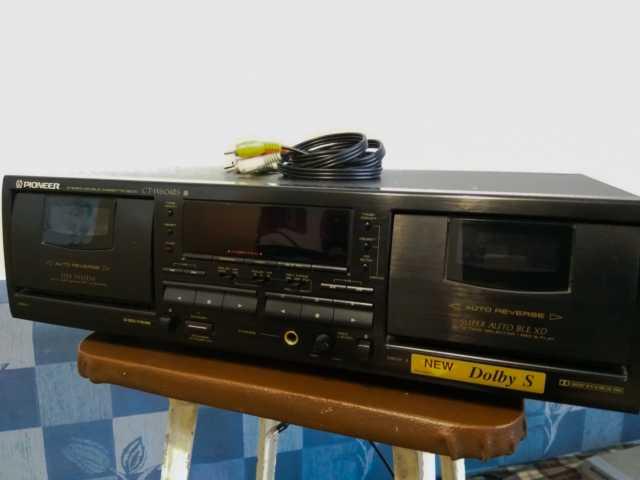 Продам Реверсная дека Pioneer CT-W604RS