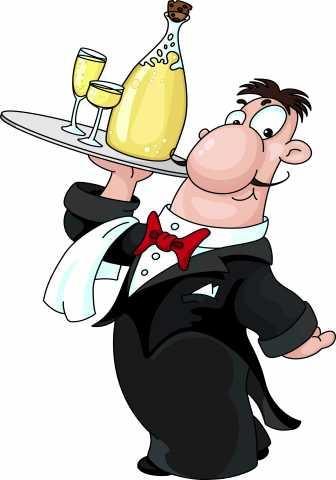 Вакансия: официант