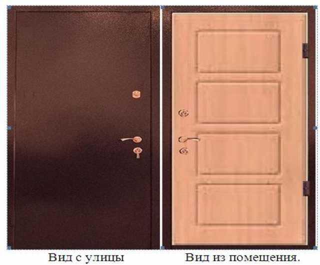 Продам Дверь входная теплая с термомостом