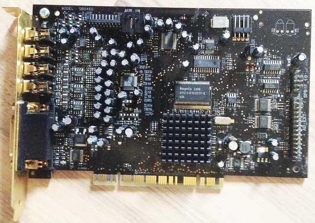 Продам Creative Sound Blaster X-Fi XtremeMusic