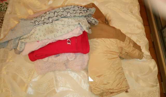 Продам Теплая одежда пакетом на 1 год-1.5