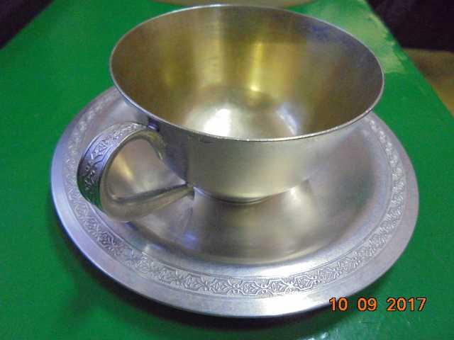 Продам кофейная пара,серебро 875 проба